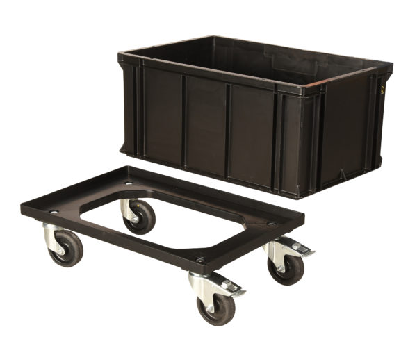 ESD Conductive Plastic Dolly 600mm x 400mm