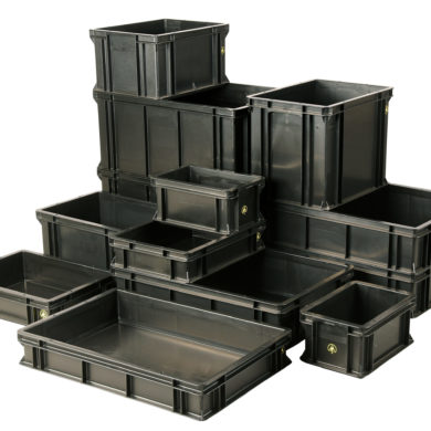 ESD Storage Boxes & ESD Handling