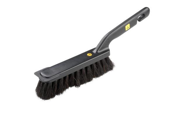 Conductive workbench brush