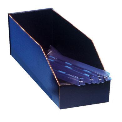ESD Box - Corstat Open Top DIP Tube Box - Static Safe Environments