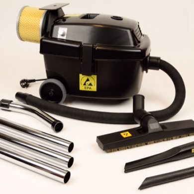 EPA Cleanroom Vacuum Cleaner – Variable Speed