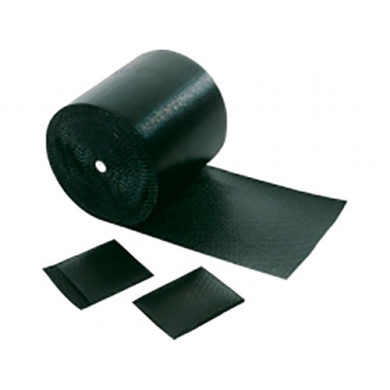 Black Bubble Wrap, Conductive