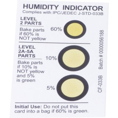 Humidity Indicator Card - Humidity Gaug