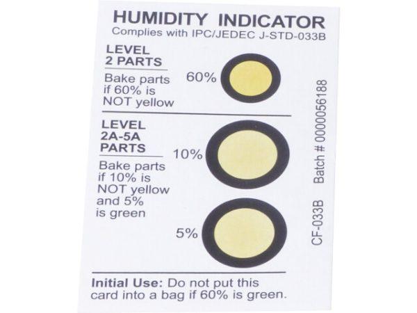 Humidity Indicator Card – Humidity Gaug
