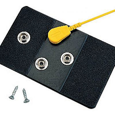 Connection Point Plate with four 10mm press studs