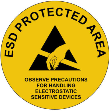 EPA Floor, Wall and Door Sign 300mm diameter
