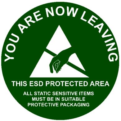 EPA exit sign