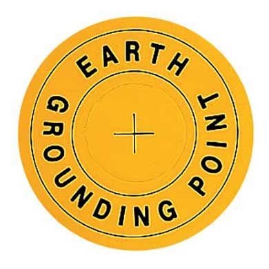 Earth Grounding Point Labels