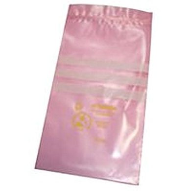 Anti Static Bags, Pink, Resealable