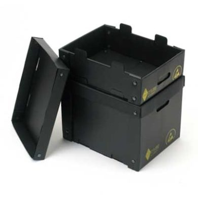 Corstat Collapsible Tote Box Static Safe Environments