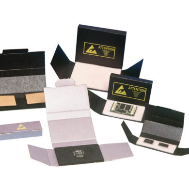 Corstat ESD Chip Box - Static Safe Environments