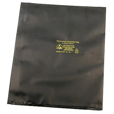 Black Conductive Bags - Pack of 100