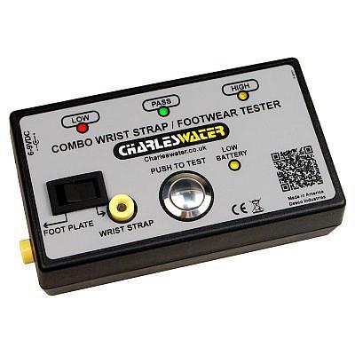 Combo Tester - ESD Wrist Strap Tester