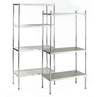 """ZP"" Zinc Plated Shelving"