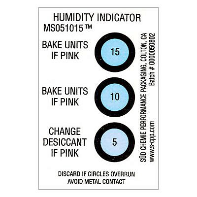 Humidity Gauge - Humidity Indicator Card - pack of 125