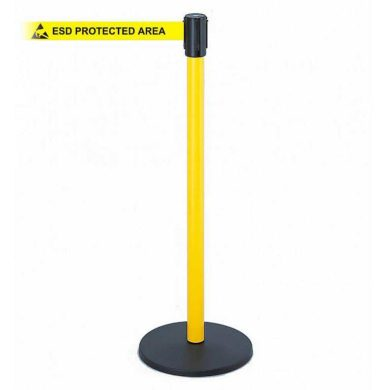 Freestanding EPA Retractab le Barrier Belt