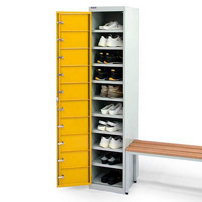 ESD Shoe locker with 10 compartment