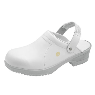 Sievi File White ESD Clogs - Static Safe Environments - ESD Shoes - Static Safe Environments