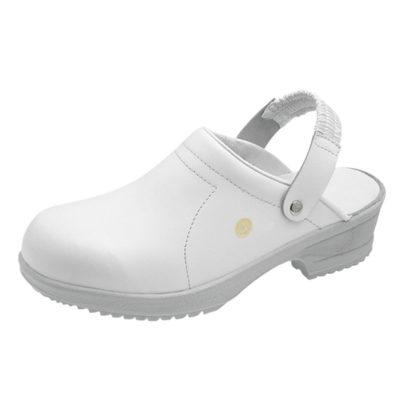 Sievi File White ESD Clogs - Static Safe Environments - ESD Shoes - Static Safe Environments