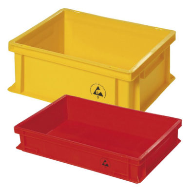 Anti static storage containers Static-Dissipative-Conatiner