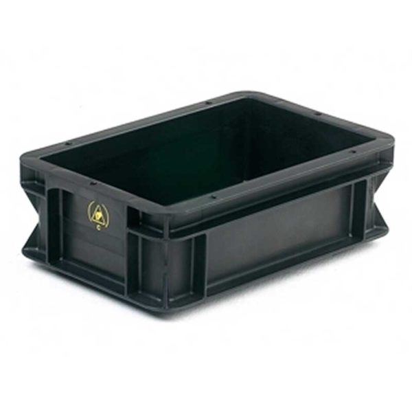 Conductive Containers – WEZ Flat Base