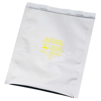 Static Shielding Bags, Resealable - Pack of 100
