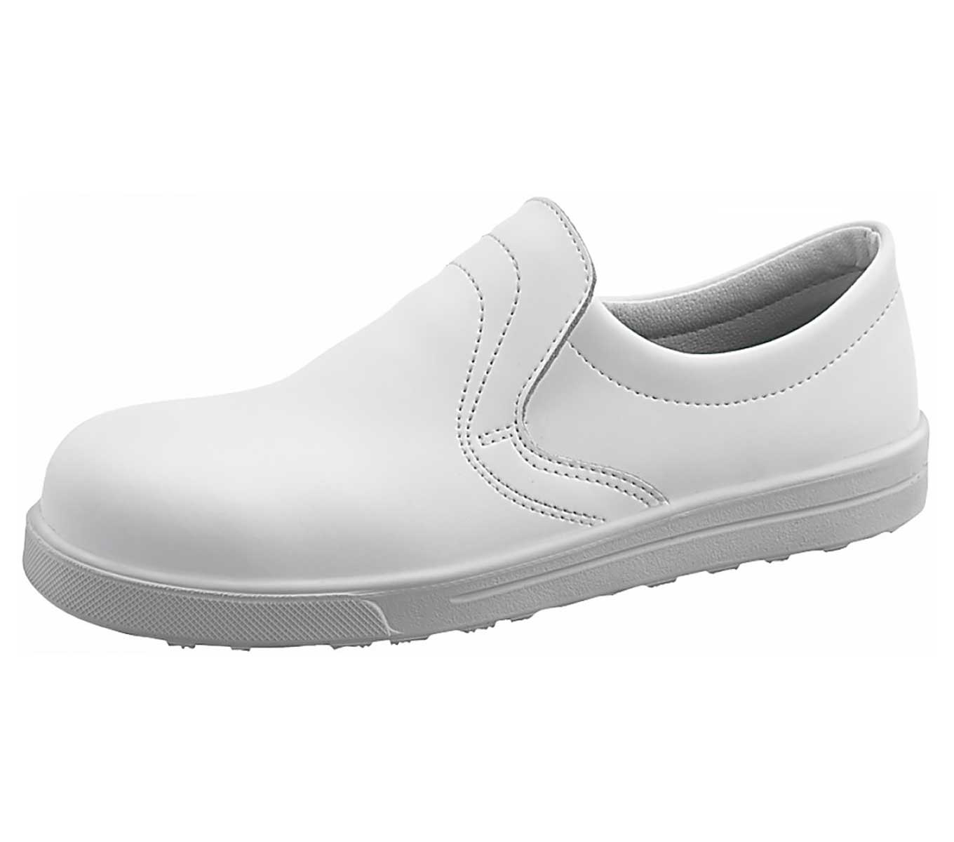 esd safety shoes sievi alfa white s2 microfibre with toecap