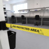 Retractable Belt Barriers – Wall Mounted for use in EPA