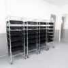 Plated Steel Conductive ESD Trolley