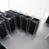 Wez ESD container trolleys