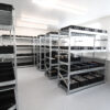 Wez containers on Longspan ESD shelving