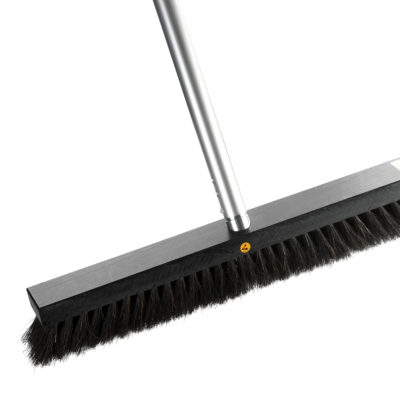 Static dissipative ESD broom