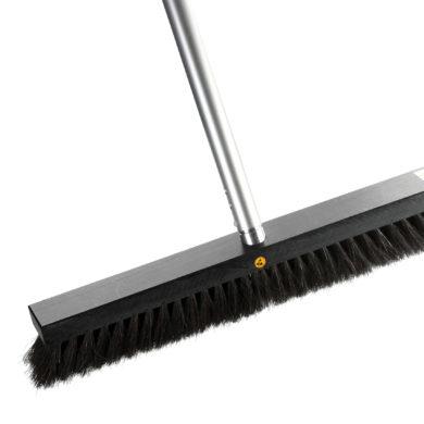 Static dissipative ESD broom