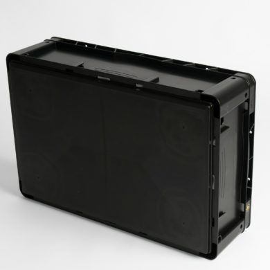 WEZ Futura Flat Base Conductive Containers