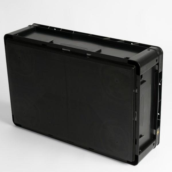 WEZ Futura Flat Base Conductive Containers