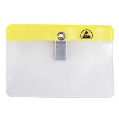 ESD Anti Static Cleanroom Name Badge Holder