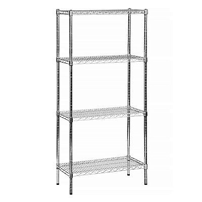 Chrome-Line Wire Shelving