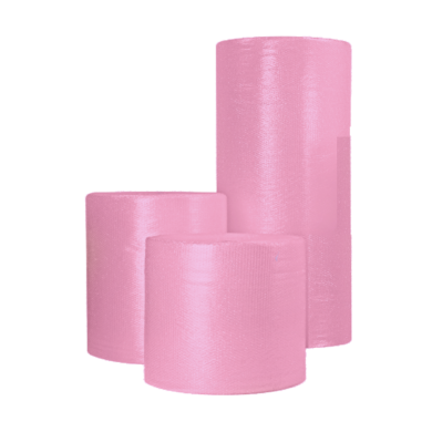 Anti Static Pink Bubble Wrap