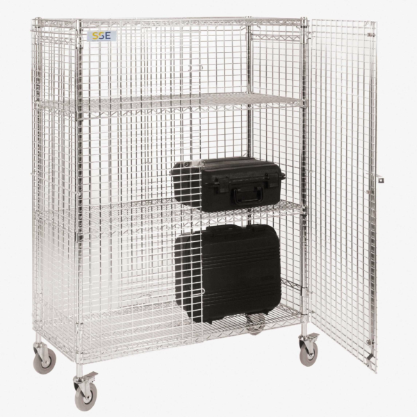 Mobile ESD Mesh Security Cage – Static Safe Environments