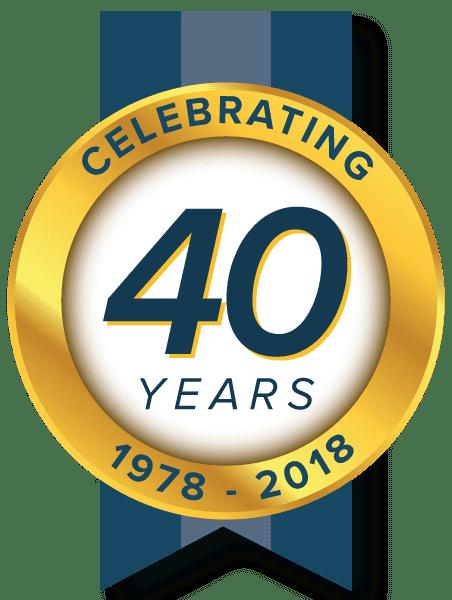 Celebrating 40 Years 1978 - 2018