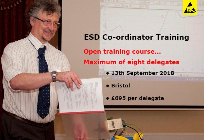 ESD Co-ordinator training