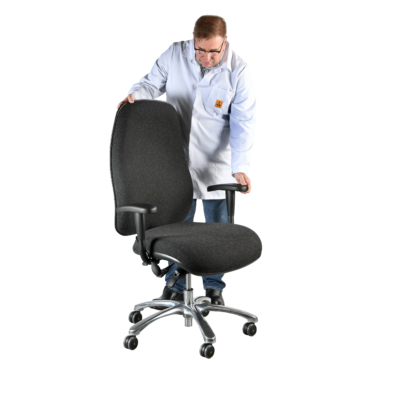 ESD Anti Static Bariatric Chairs for Larger Users
